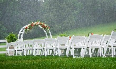 Esküvő és időjárás jelentés